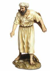 Imagen de Pastor con Jarras cm 20 (7,9 inch) Belén Landi Moranduzzo Estatua de resina estilo árabe