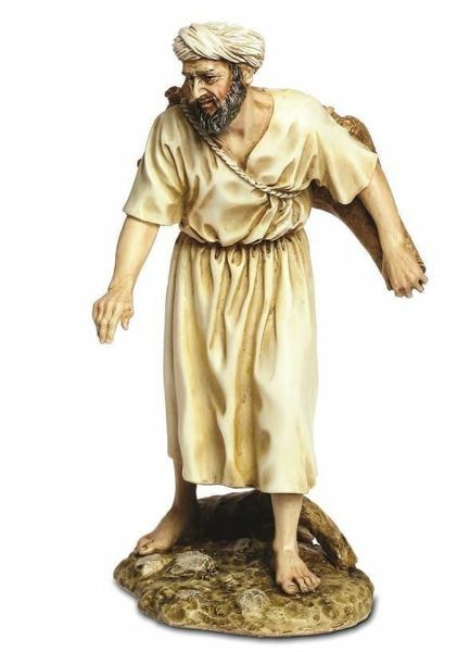 Picture of Man with Jugs cm 20 (7,9 inch) Landi Moranduzzo Nativity Scene resin Statue Arabic style