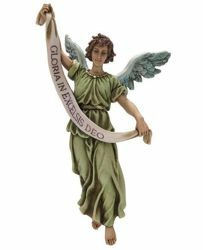 Picture of Glory Angel cm 20 (7,9 inch) Landi Moranduzzo Nativity Scene resin Statue Arabic style