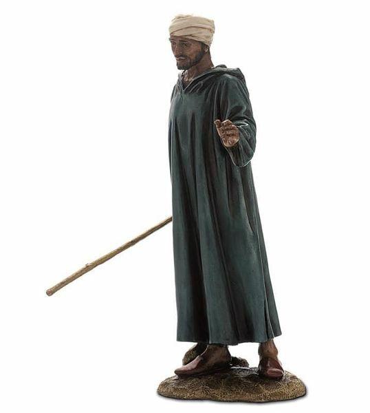 Immagine di Conducente cm 20 (7,9 inch) Presepe Landi Moranduzzo Statua in resina stile Arabo
