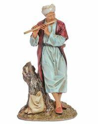Picture of Oriental Flautist cm 20 (7,9 inch) Landi Moranduzzo Nativity Scene resin Statue Arabic style