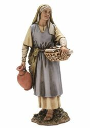 Picture of Midwife cm 20 (7,9 inch) Landi Moranduzzo Nativity Scene resin Statue Arabic style