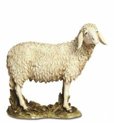 Picture of Sheep cm 20 (7,9 inch) Landi Moranduzzo Nativity Scene resin Statue Arabic style