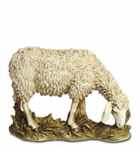 Imagen de Oveja cm 20 (7,9 inch) Belén Landi Moranduzzo Estatua de resina estilo árabe
