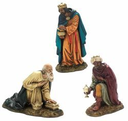Picture of Wise Kings cm 20 (7,9 inch) Landi Moranduzzo Nativity Scene resin Statue Arabic style