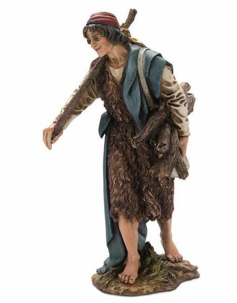 Immagine di Viandante cm 20 (7,9 inch) Presepe Landi Moranduzzo Statua in resina stile Arabo