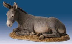 Picture of Donkey cm 30 (11,8 inch) Landi Moranduzzo Nativity Scene resin Statue Arabic style