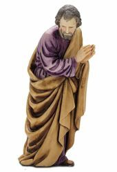 Picture of Saint Joseph cm 13 (5,1 inch) Landi Moranduzzo Nativity Scene plastic PVC Statue Arabic style