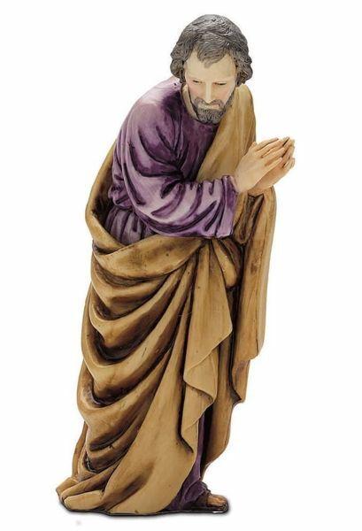 Imagen de San José cm 13 (5,1 inch) Belén Landi Moranduzzo Estatua de plástico PVC estilo árabe