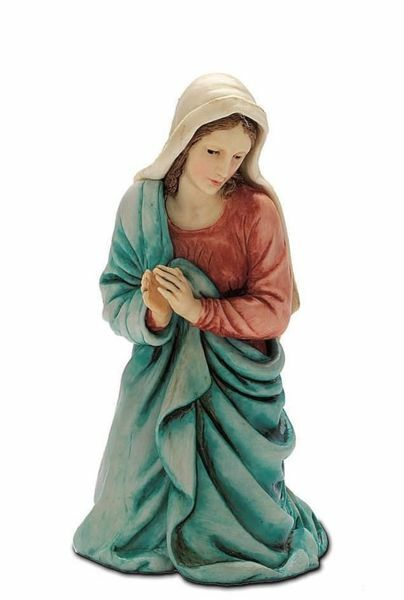 Immagine di Madonna / Maria cm 13 (5,1 inch) Presepe Landi Moranduzzo Statua in plastica PVC stile Arabo