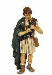 Imagen de Pastor con Flauta cm 13 (5,1 inch) Belén Landi Moranduzzo Estatua de plástico PVC estilo árabe
