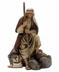 Immagine di Guardiano cm 13 (5,1 inch) Presepe Landi Moranduzzo Statua in plastica PVC stile Arabo