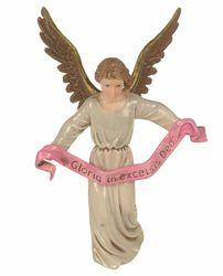 Imagen de Ángel Gloria cm 12 (4,7 inch) Belén Landi Moranduzzo Estatua de plástico PVC estilo Napolitano