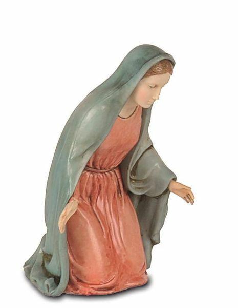 Imagen de María / Madonna cm 12 (4,7 inch) Belén Landi Moranduzzo Estatua de plástico PVC estilo Napolitano