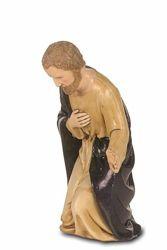 Immagine di San Giuseppe cm 12 (4,7 inch) Presepe Landi Moranduzzo Statua in plastica PVC stile Napoletano