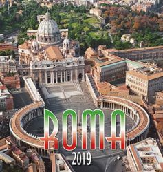 Picture of Rome St. Peter 2019 wall Calendar cm 32x34 (12,6x13,4 in)