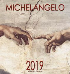 Picture of Michelangelo (2) 2019 wall Calendar cm 32x34 (12,6x13,4 in)