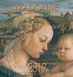Immagine di Virgin Mary in Art (1) 2019 wall Calendar cm 32x34 (12,6x13,4 in)