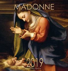 Immagine di Virgin Mary in Art (3) 2019 wall Calendar cm 32x34 (12,6x13,4 in)