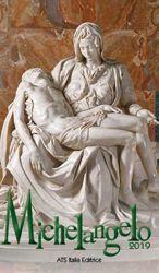 Immagine di Calendario da tavolo 2019 Michelangelo cm 7x12