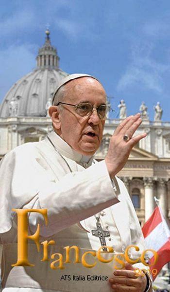 Immagine di Calendario da tavolo 2019 Papa Francesco cm 7x12 (1)