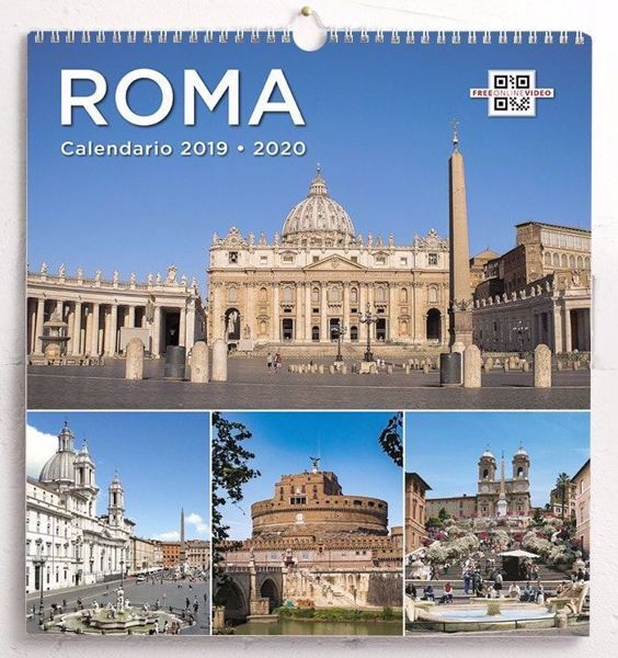 Picture of Rom Wand-kalender 2019/2020 cm 31x33 24 monate