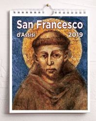 Imagen de Assisi and St. Francis 2020 wall and desk calendar cm 16,5x21 (6,5x8,3 in)