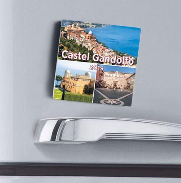 Picture of Calendario magnetico 2019  Castel Gandolfo Residenza dei Papi by Night cm 8x8 - copy