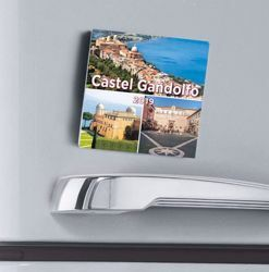Imagen de Castel Gandolfo Popes' residence 2019 magnetic calendar cm 8x8 (3,1x3,1 in)