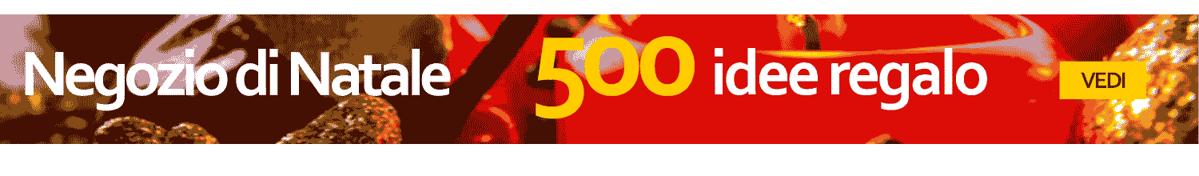 ✔ Natale - 500 Idee regalo