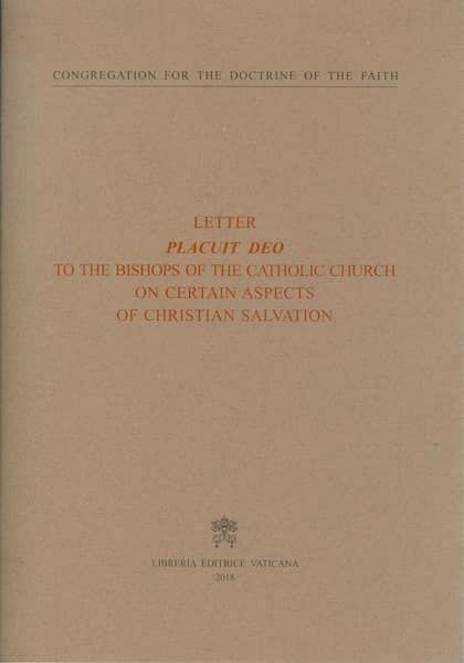 Immagine di Letter Placuit Deo to the Bishops of the Catholic Church on certain aspects of Christian salvation
