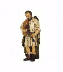 Immagine di Zampognaro cm 13 (5,1 inch) Presepe Landi Moranduzzo Statua in plastica PVC stile Napoletano
