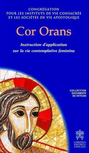 Imagen de Cor Orans Instruction sur la vie contemplative féminine