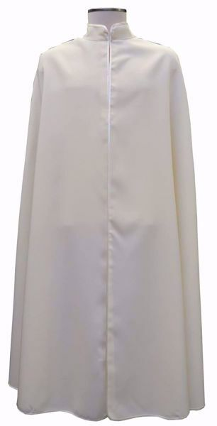 Immagine di PERSONALIZZATA Mantella lunga Confraternita colori a richiesta cm 125 (49,2 inch) Poliestere Chorus