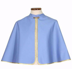 Picture of CUSTOMIZABLE Confraternity Cloak Colours upon request without Embroidery cm 60 (23,6 inch) in pure Polyester  Chorus
