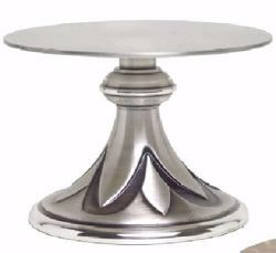 Picture of Altar Throne Base for Monstrance H. cm 8,5 (3,3 inch) Petals in brass Gold Silver