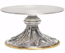 Picture of Altar Throne Base for Monstrance H. cm 7 (2,8 inch) stylized Rays of Light in brass Gold Silver