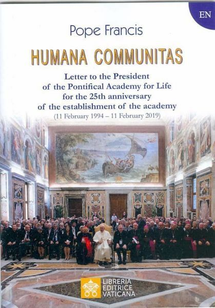 Immagine di Humana Communitas Letter to the President of the Pontifical Academy for Life