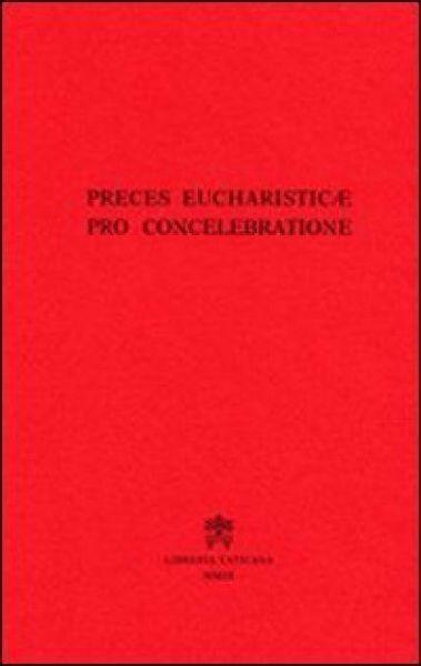 Picture of Preces eucharisticae pro concelebrazione