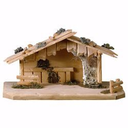 Picture of Austria Stable cm 8 (3,1 inch) for Ulrich Nativity Scene in Val Gardena wood