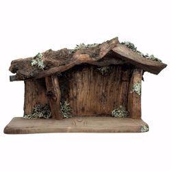 Imagen de Establo Raíz cm 10 (3,9 inch) para Belén artesanal Cometa de madera Val Gardena