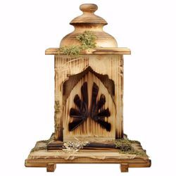 Picture of Lantern Stable cm 12 (4,7 inch) for Comet Nativity Scene in Val Gardena wood
