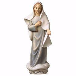 Picture of Our Lady Madonna of Medjugorje Modern Style cm 35 (13,8 inch) wooden Statue oil colours Val Gardena