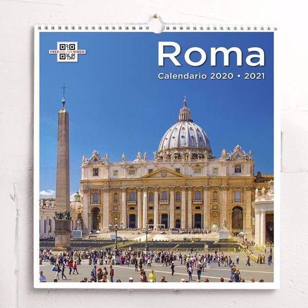 As Roma Calendario.San Pedro Roma Calendario De Pared 2020 2021 Cm 31x33 12 2x13 In
