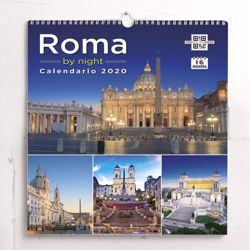 Immagine di Monuments of Rome 2020 wall Calendar cm 31x33 (12,2x13 in)