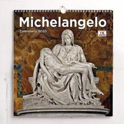 Imagen de Michelangelo 2021 wall Calendar cm 31x33 (12,2x13 in)