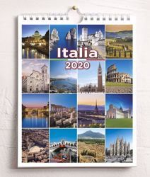 Immagine di Italy Italia 2020 wall and desk calendar cm 16,5x21 (6,5x8,3 in)