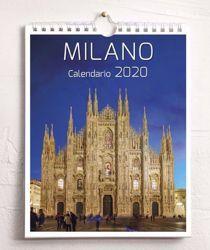 Picture of Milano by Night Calendario da tavolo e da muro 2020 cm 16,5x21
