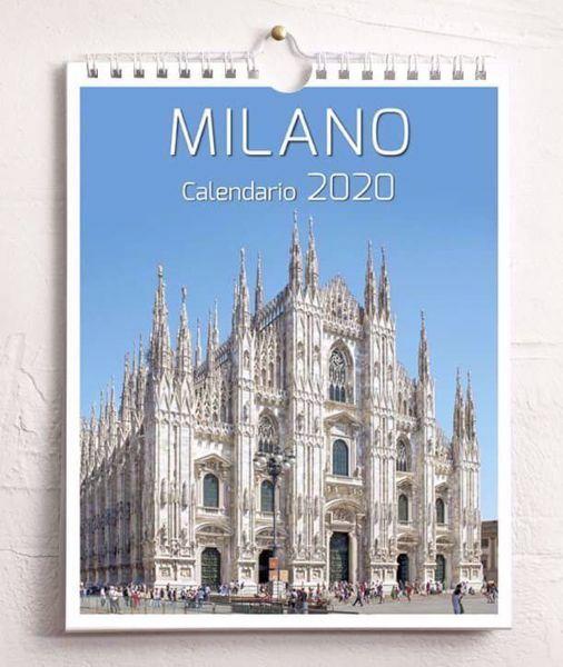 Immagine di Milano 2020 wall and desk calendar cm 16,5x21 (6,5x8,3 in)
