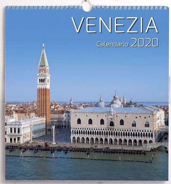 Vendita Calendario 2020.Venezia Calendario Da Tavolo E Da Muro 2020 Cm 16 5x21